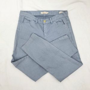 Tory Burch Super Skinny Jean 28 Light Blue Wash